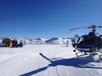 Launch into the fresh Livigno powder! Affordable heli-skiing