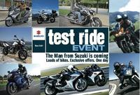 Suzuki Test Ride Roadshow returns for 2013