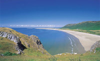 Rhossili Bay cottages - close to the Best Beach in Britain