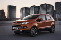 Ford EcoSport SUV debuts at Mobile World Congress