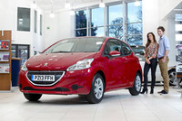 Peugeot 208 leads popularity March for '13-plate'