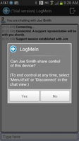 LogMeIn brings remote access and support to Android devices
