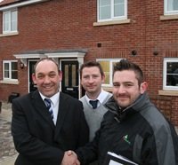 Linden Homes helps mark a milestone for housing provider in York
