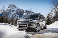 All-new Ford Kuga performs on the road and dances on ice