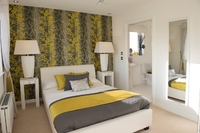 Spring has sprung at two new showhomes in Cambuslang