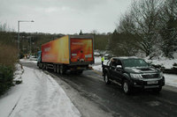 Hilux rescues ice road truckers