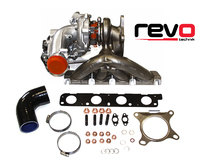 Revo K04 turbocharger system for 2.0 TSi VW group vehicles
