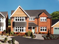 New Redrow development in Hardwicke, Gloucestershire