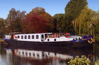Luxury hotel barge cruising - 'do it the UK way' and no need to fly