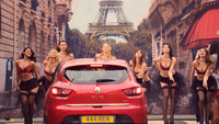 Renault Clio viral ads near 4 million views