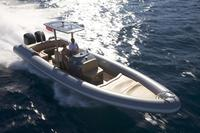 Stunning Hunton 1005 rib at the Antibes Yacht Show