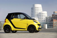 smart fortwo cityflame edition is genuine hot stuff