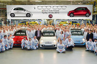 One millionth Fiat 500 rolls off the production line at Tychy