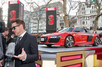 Stars turn out for screening of Iron Man 3 including the Audi R8 e-tron