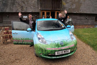 Nissan LEAF makes British cheesemaker carbon neutral
