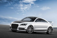 Audi TT ultra quattro concept sheds 300kg to sharpen its focus