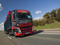 Alex Anderson is first again with the new Volvo FH