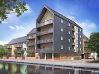 Get Help to Buy a new home in a waterside location at Indigo Wharf