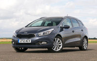 "Kia cee'd Sportswagon wins ""Best Estate Car"" award"