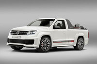 Volkswagen's V6 TDI Power-Pickup Amarok wows Worthersee