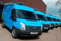 Ford Transit helps power British Gas with 520-van order