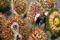 Chelsea or Colombia? - The Medellin Flower Festival, Colombia