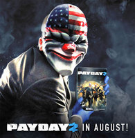 Payday 2 release date set for August