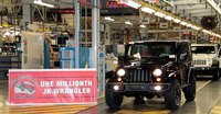 Toledo assembly complex builds one-millionth Jeep Wrangler JK