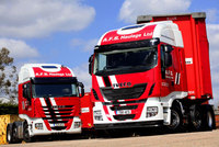 International Truck of the Year pairing for A.F.S. Haulage