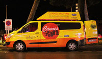 New Ford Transit Custom stars at Cannes Film Festival