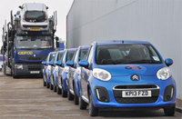 Citroen strengthens its G4S relationship with 437 new C1 city cars