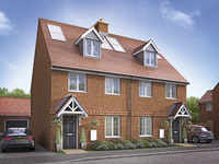 First new homes now on sale at Beauchamp Mill in Stotfold