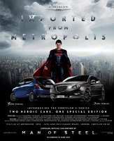 Chrysler celebrate Man of Steel release with limited edition 'S-Series'