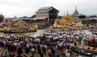 Join in the celebrations at a Burmese festival