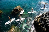 Gran Canaria's paddle surf fitness craze
