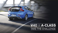 Swedish Metal takes on German Techno in the Volvo V40 Challenge