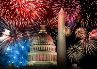 Brits pick Washington DC to celebrate July 4th the American Way