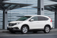 New Honda CR-V receives 5-star Euro NCAP overall safety rating