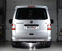 Milltek launches new VW T5 exhaust system for all models