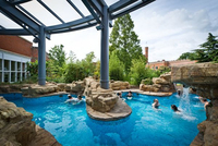 Where will you be cooling off? Spas with outdoor pools