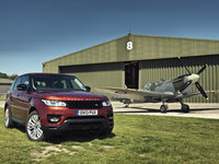 All-new Range Rover Sport takes on mighty Spitfire at Goodwood