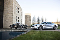Aston Martin Centenary celebrations arrive in Kensington Gardens