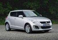 Suzuki updates Swift range