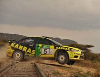 JRM Mitsubishi Evo X scores outright victory in Safari Rally