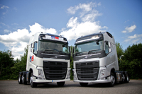 Volvo's new FH put to work at MC Rental