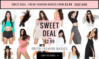 Fresh fashion basics from £2.99