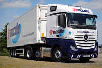 Mercedes-Benz new Actros is the mpg champion for McCulla