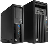 New Z Workstations and performance displays from HP
