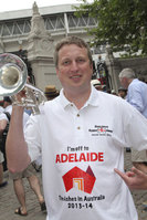 Barmy Army to trumpet about Adelaide and South Australia