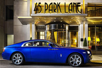 45 Park Lane offers the complete package with Rolls-Royce Wraith drive
